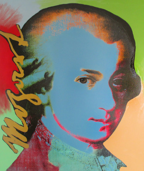 Mozart (Homage to the Genius Series) 1996 Limited Edition Print - Steve Kaufman