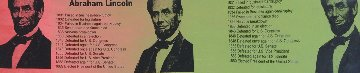 Abe Lincoln Portrait of an Achiever PP Limited Edition Print - Steve Kaufman