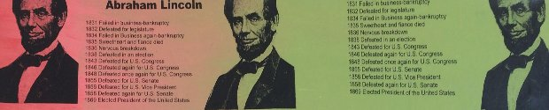 Abe Lincoln Portrait of an Achiever PP