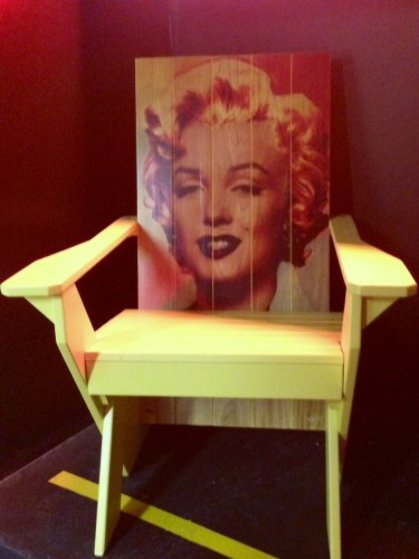 Marilyn Monroe Adirondack Chair #1 2007 Unique
