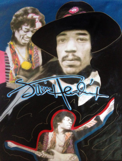 Jimi Hendrix 1995 Unique 64x44