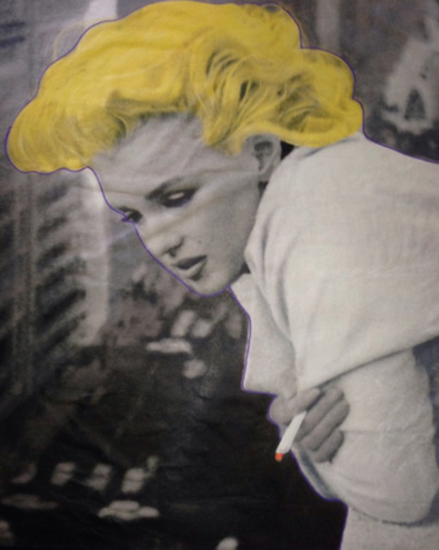 Marilyn Monroe 5th Ave New York Unique 2004 58x36