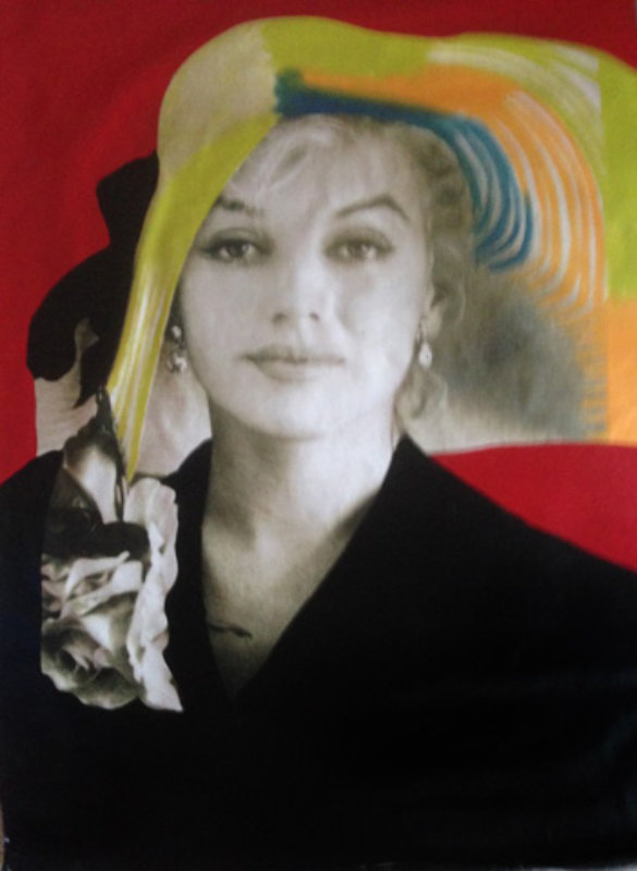 Marilyn Sophisticated X-Large 1996 Unique 60x40