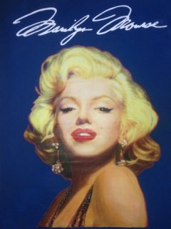 Marilyn Unique 1996 46x36 Original Painting - Steve Kaufman