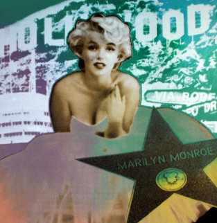 Marilyn Monroe Hollywood Limited Edition Print - Steve Kaufman