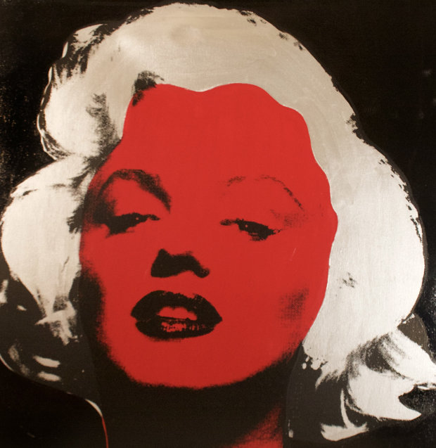 Marilyn Series VI  (Black) 1995