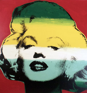 Marilyn Series I (Red) 1995 Limited Edition Print - Steve Kaufman