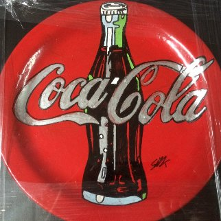 Coca Cola Ceramic Plate Unique Other - Steve Kaufman