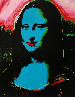 Mona Lisa PP Embellished Limited Edition Print - Steve Kaufman