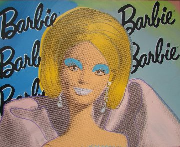 Barbie Doll  2000 Limited Edition Print - Steve Kaufman