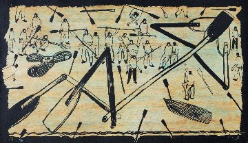 Untitled Woodcut 2008 Limited Edition Print - Kcho