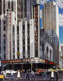 Radio City Music Hall, New York AP Limited Edition Print - Ken Keeley