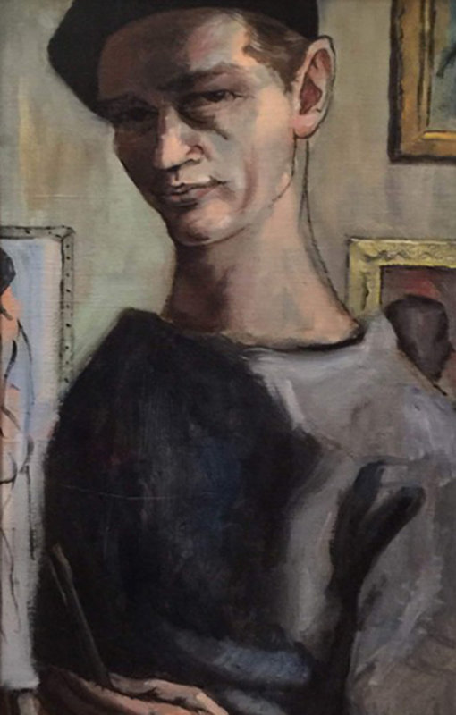 Artist As a Young Man 1965 15x33