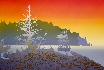Days End 1980 Limited Edition Print - Ken Auster