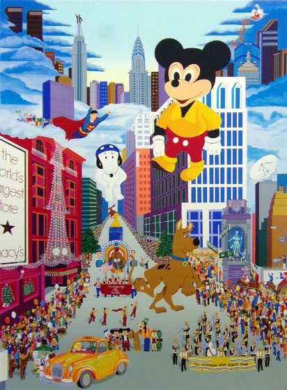 Macy's Thanksgiving Day Parade 1985 w Remarque
