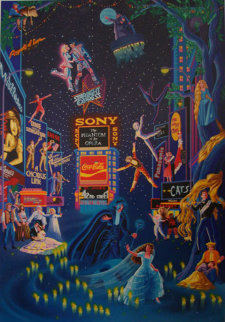 Broadway 1990 Limited Edition Print - Melanie Taylor Kent