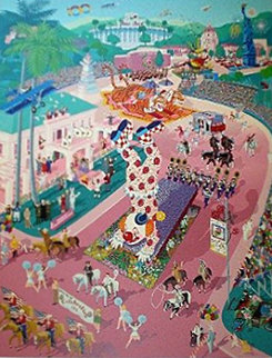 Rose Parade Centennial 1988 Limited Edition Print - Melanie Taylor Kent