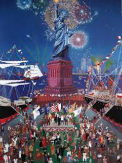 Statue of Liberty 1986 Limited Edition Print - Melanie Taylor Kent