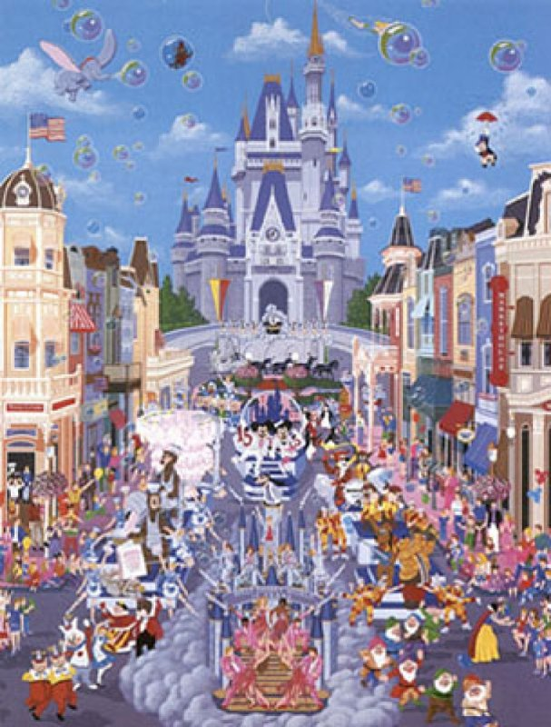 Walt Disney World 1987 Remarque