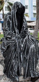 Guardian of Time Resin Sculpture 2014 59 in Sculpture - Manfred Kielnhofer
