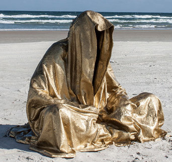 Guardians of Time Polybronze Sculpture 2014 Sculpture - Manfred Kielnhofer