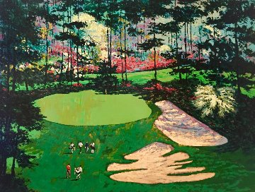 Augusta National Golf Club 10th Hole 1990 Limited Edition Print - Mark King