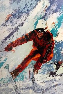 Down Hill Skier 1978 Limited Edition Print - Mark King