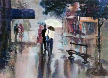 Rainy Day 1994 Limited Edition Print - Mark King