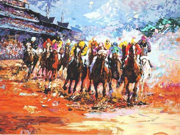 Kentucky Derby PP 1990 Limited Edition Print - Mark King