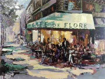 Cafe De Flore Limited Edition Print - Mark King