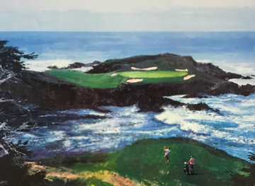 Fifteenth At Cypress Point 1994 Limited Edition Print - Mark King