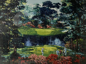 Untitled (Golf Course Landscape) Limited Edition Print - Mark King