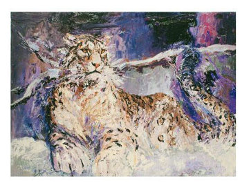 Snow  Leopard 2009 Limited Edition Print - Mark King