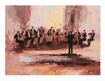 Concert Ensemble 2009 Limited Edition Print - Mark King