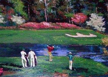 Desoto Springs Pond Pond of Augusta   13 Th Hole Limited Edition Print - Mark King