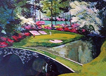 Augusta Morning #12 (Golf) 1992 Limited Edition Print - Mark King