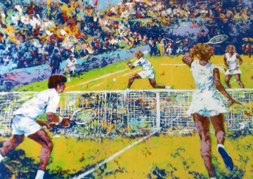 Tennis Player Limited Edition Print - Mark King