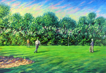 Untitled Golf AP 1995 Limited Edition Print - Mark King