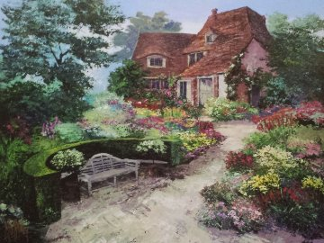 An English Garden 2009 Limited Edition Print - Mark King
