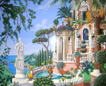 View to Sorrento 1992 Limited Edition Print - John Kiraly