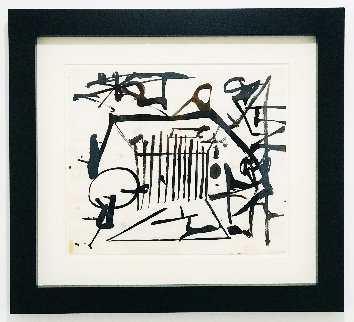 Untitled Painting 1948 22x24 Works on Paper (not prints) - Franz Kline