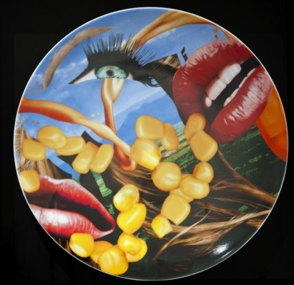 Lips porcelain plate 2012 by jeff koons for Best way to sell your art online