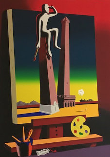 Loophole With a View 2001 Limited Edition Print - Mark Kostabi
