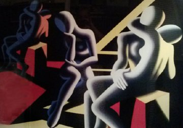 Languor of Love 1993 Limited Edition Print - Mark Kostabi