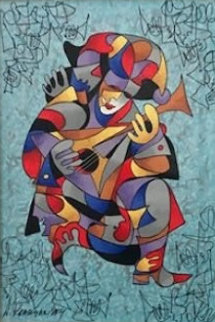 Musical Laughter 1988 Limited Edition Print - Anatole Krasnyansky