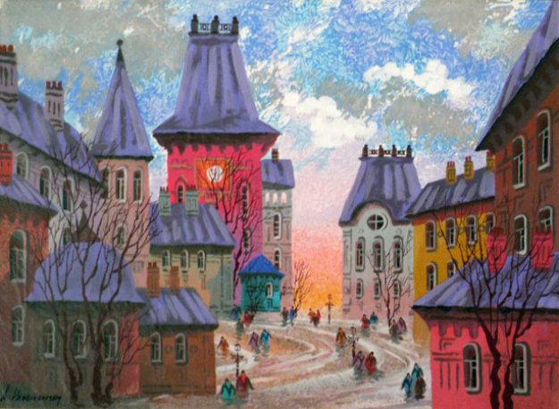 old rotenburg  russia 2000 by anatole krasnyansky