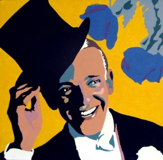 Top Hat, Fred Astaire 1974 Original Painting - Martin Kreloff