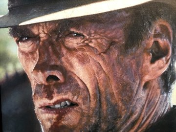 The Good Clint Eastwood 28x45 Limited Edition Print - Sebastian Kruger