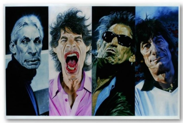 Untitled Jagger 40 X 40