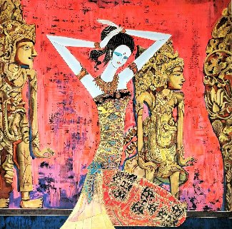 Balinese Beauty 1999 Limited Edition Print - Shao Kuang Ting